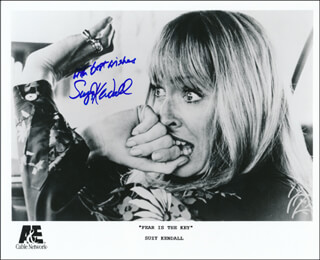 SUZY KENDALL - PRINTED PHOTOGRAPH SIGNED IN INK