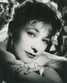 ANN MAGNUSON - AUTOGRAPHED INSCRIBED PHOTOGRAPH