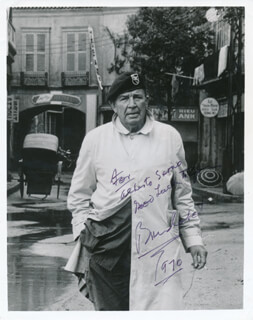 BRUCE CABOT - AUTOGRAPHED INSCRIBED PHOTOGRAPH 1970