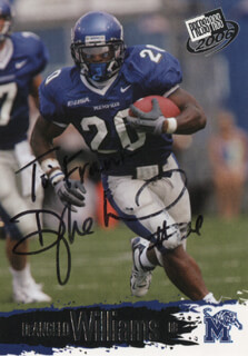 DEANGELO WILLIAMS - TRADING/SPORTS CARD SIGNED