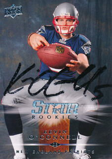 KEVIN O'CONNELL - TRADING/SPORTS CARD SIGNED