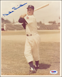 DUKE SNIDER - AUTOGRAPHED SIGNED PHOTOGRAPH