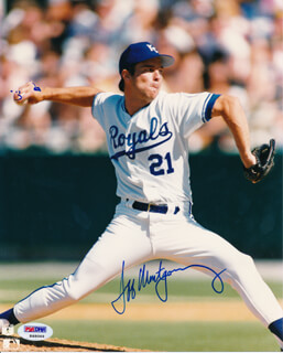 JEFF MONTGOMERY - AUTOGRAPHED SIGNED PHOTOGRAPH