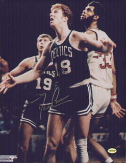 DAVE COWENS - AUTOGRAPHED SIGNED PHOTOGRAPH