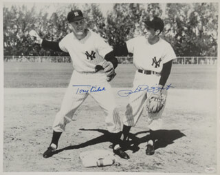 THE NEW YORK YANKEES - AUTOGRAPHED SIGNED PHOTOGRAPH CO-SIGNED BY: TONY KUBEK, PHIL RIZZUTO