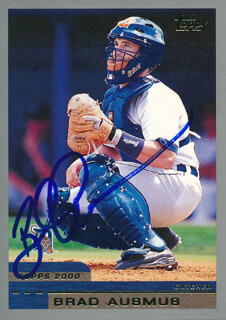 BRAD AUSMUS - TRADING/SPORTS CARD SIGNED