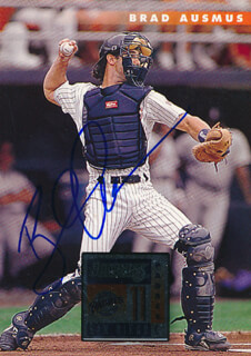 Autographs: BRAD AUSMUS - TRADING/SPORTS CARD SIGNED