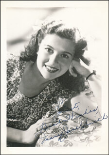 MARY JANE SMITH - AUTOGRAPHED INSCRIBED PHOTOGRAPH