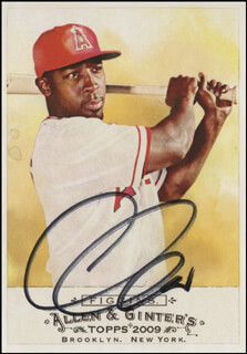 CHONE FIGGINS - TRADING/SPORTS CARD SIGNED