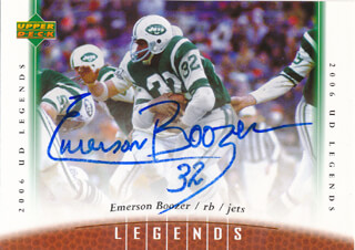 EMERSON BOOZER - TRADING/SPORTS CARD SIGNED