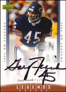 GARY FENCIK - TRADING/SPORTS CARD SIGNED