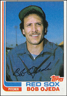 BOB OJEDA - TRADING/SPORTS CARD SIGNED