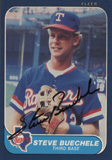 STEVE BUECHELE - TRADING/SPORTS CARD SIGNED
