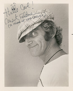 MARTY FELDMAN - AUTOGRAPHED INSCRIBED PHOTOGRAPH