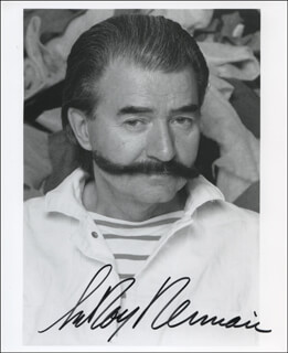 LEROY NEIMAN - AUTOGRAPHED SIGNED PHOTOGRAPH