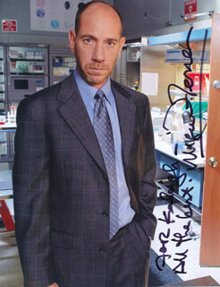 MIGUEL FERRER - AUTOGRAPHED INSCRIBED PHOTOGRAPH