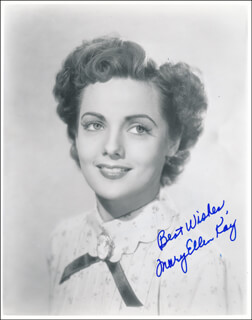 MARY ELLEN KAY - AUTOGRAPHED SIGNED PHOTOGRAPH