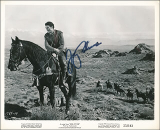 JACK PALANCE - PRINTED PHOTOGRAPH SIGNED IN INK