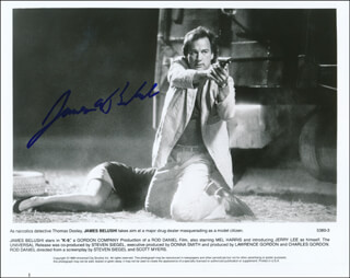 JAMES BELUSHI - PRINTED PHOTOGRAPH SIGNED IN INK