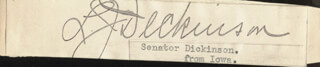 LESTER JESSE DICKINSON - CLIPPED SIGNATURE