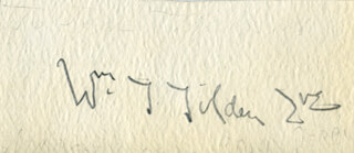 WILLIAM T. TILDEN II - AUTOGRAPH
