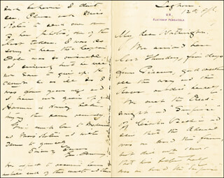ADMIRAL GEORGE DEWEY - AUTOGRAPH LETTER SIGNED 04/12