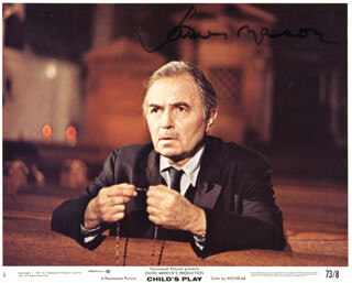 JAMES MASON - AUTOGRAPHED SIGNED PHOTOGRAPH