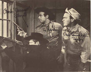 CHARLES DURANGO STARRETT - AUTOGRAPHED SIGNED PHOTOGRAPH