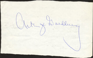 Autographs: ASSOCIATE JUSTICE ARTHUR J. GOLDBERG - CLIPPED SIGNATURE