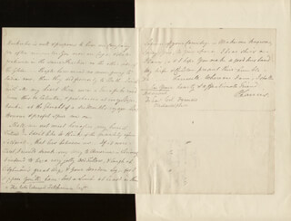 SIR PHILIP FRANCIS - AUTOGRAPH LETTER SIGNED 07/17/1773