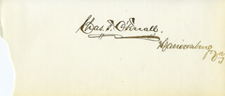 CHARLES T. O'FERRALL - AUTOGRAPH