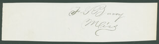 Autographs: FREDERICK G. BARRY - SIGNATURE(S)