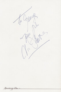 VIC DAMONE - AUTOGRAPH NOTE SIGNED