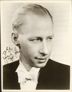 RAY NOBLE - AUTOGRAPHED INSCRIBED PHOTOGRAPH