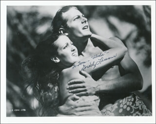 DOROTHY LAMOUR - AUTOGRAPHED INSCRIBED PHOTOGRAPH