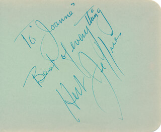 HERB JEFFRIES - AUTOGRAPH NOTE SIGNED