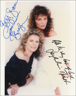 RICH AND FAMOUS MOVIE CAST - AUTOGRAPHED SIGNED PHOTOGRAPH CO-SIGNED BY: CANDICE BERGEN, JACQUELINE BISSET