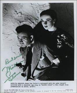 MILBURN STONE - AUTOGRAPH SENTIMENT ON PRINTED PHOTOGRAPH SIGNED