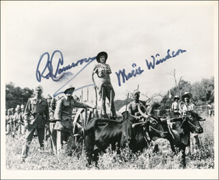 THE JUNGLE MOVIE CAST - AUTOGRAPHED SIGNED PHOTOGRAPH CO-SIGNED BY: MARIE WINDSOR, ROD CAMERON