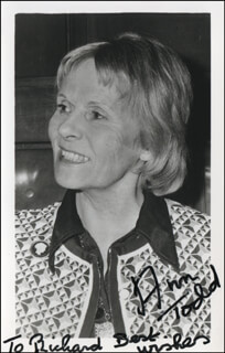 ANN TODD - AUTOGRAPHED INSCRIBED PHOTOGRAPH