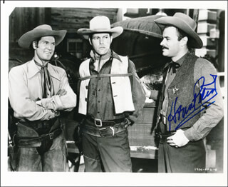 HOUSE PETERS JR. - AUTOGRAPHED SIGNED PHOTOGRAPH