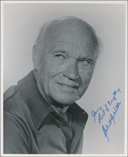 ROBERT J. WILKE - AUTOGRAPHED INSCRIBED PHOTOGRAPH