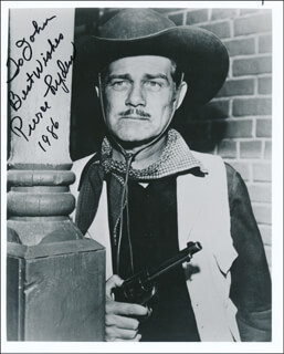 PIERCE LYDEN - AUTOGRAPHED INSCRIBED PHOTOGRAPH 1986