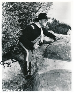 GREGG BARTON - AUTOGRAPHED SIGNED PHOTOGRAPH