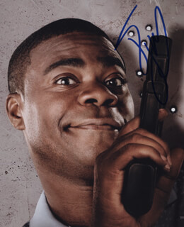 TRACY MORGAN - AUTOGRAPHED SIGNED PHOTOGRAPH