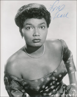 PEARL BAILEY - AUTOGRAPHED SIGNED PHOTOGRAPH  - HFSID 341335