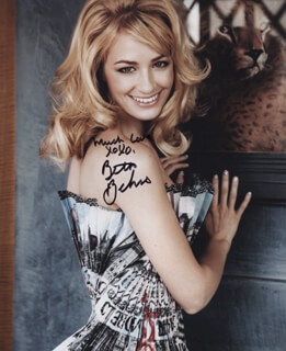 BETH BEHRS - AUTOGRAPHED SIGNED PHOTOGRAPH