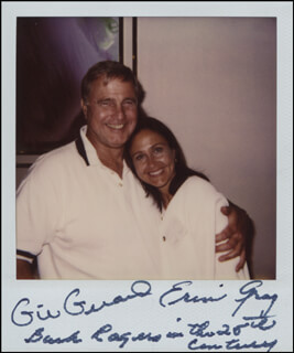 Autographs: BUCK ROGERS IN THE 25TH CENTURY TV CAST - PHOTOGRAPH SIGNED CO-SIGNED BY: GIL GERARD, ERIN GRAY