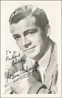 DANA ANDREWS - AUTOGRAPHED INSCRIBED PHOTOGRAPH