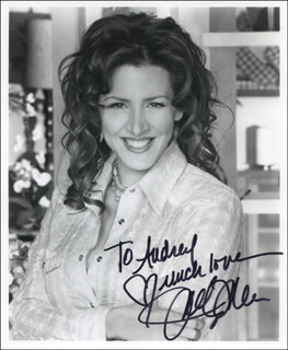JOELY FISHER - AUTOGRAPHED INSCRIBED PHOTOGRAPH